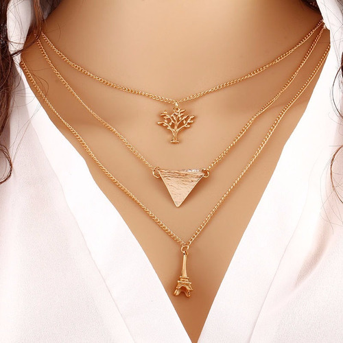 choker collar necklace charm jewelry statement mujer no.15