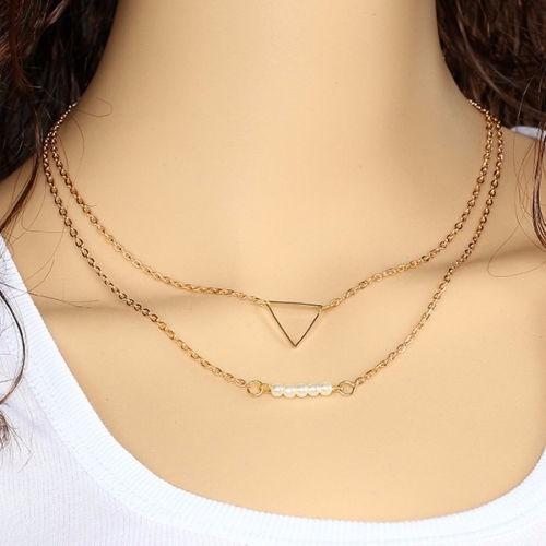 choker collar necklace charm jewelry statement mujer no.7