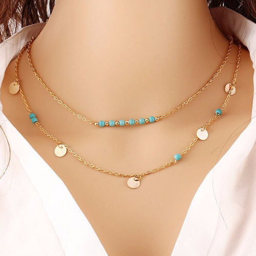 choker collar necklace charm jewelry statement mujer no.8