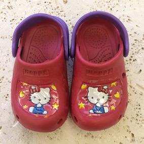 brand new fba9d 479d9 Crocs De Hello Kitty Talla 38 - Ropa, Zapatos y Accesorios ...