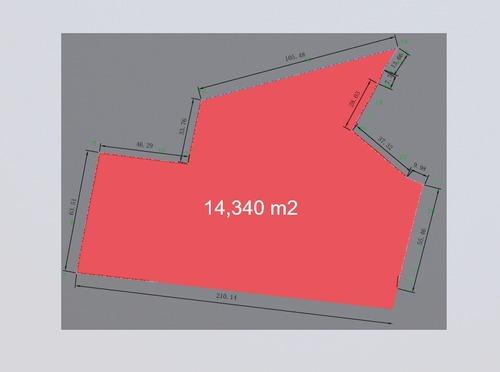 cholul terreno de 14,340 m2 en venta