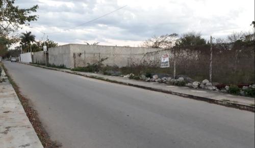 cholul terrenos calle ancha pavimentada pagalo a 6 meses