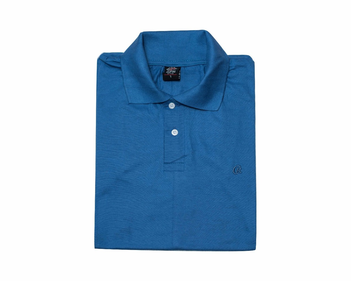 Chomba Cuello Camisa Tipo Polo Algodon 100% Peinado -   330 c2790b7b0645b