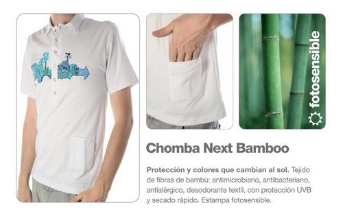 chomba hombre en bambu - antitranspirante