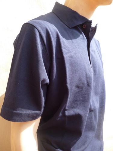 chomba piqué estandar,manga corta,azul,gris,verde(s/3xl)