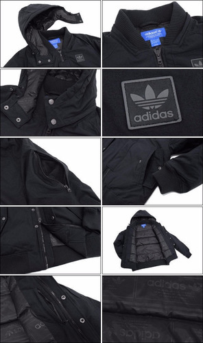 chompa adidas originals winter jacket super star small