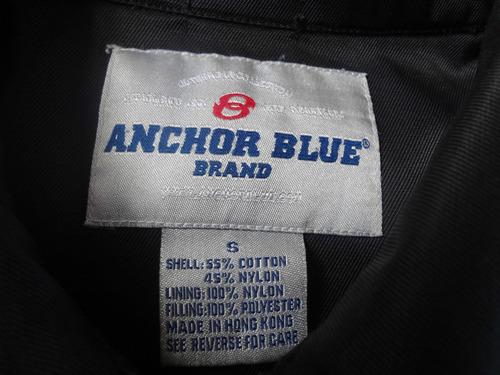 chompa anchor blue talla small #000175001408