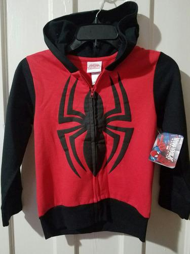 chompa marvel orginal nueva  hombre araña niño 7años