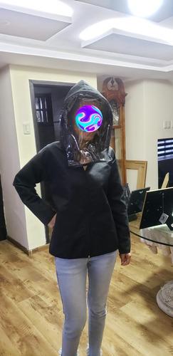 chompas con proteccion facial removible gratis mascarill n95