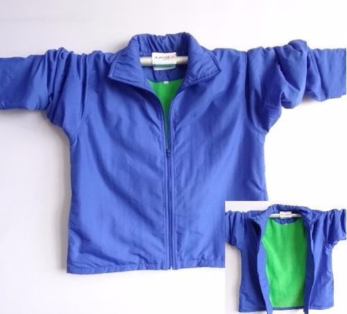 chompas, plumo polar imperm chalecos uniformes varios modelo