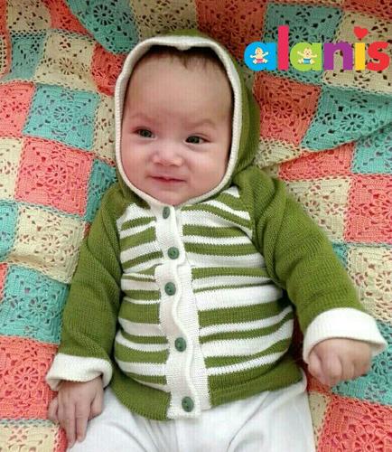 chompas tejidas para bebés