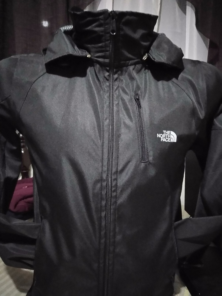 north face impermeable hombre