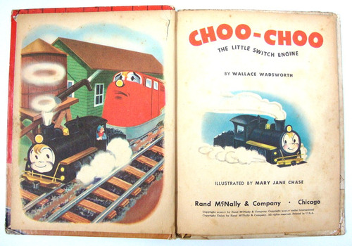 choo-choo the little switch engine - classico de 1954 - text