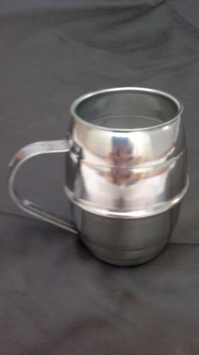 chop cerveza de acero inoxidable 1 litro