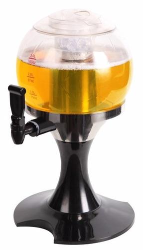chopeira 3litros mini torre de chopp cerveja sucos bebidas