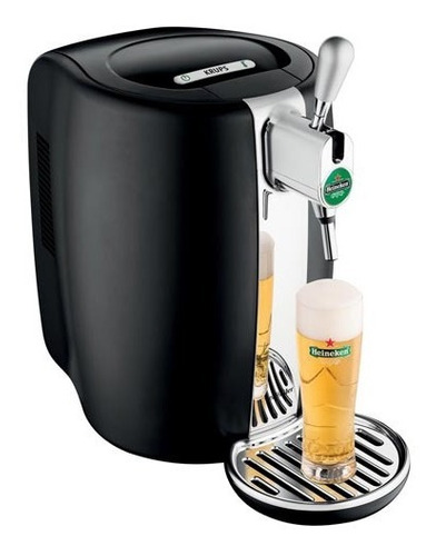 chopeira beertender krups heineken 5l preto b101_chop 110v