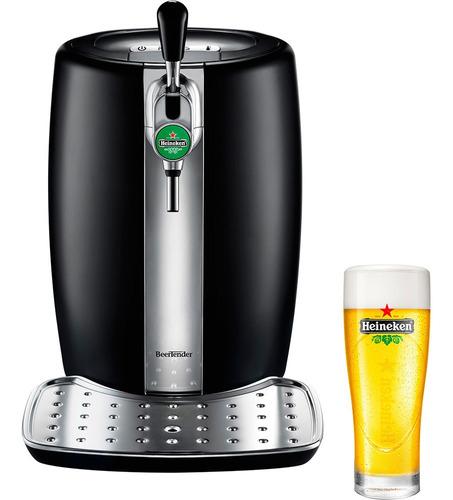 chopeira beertender krups heineken b100 5l preto