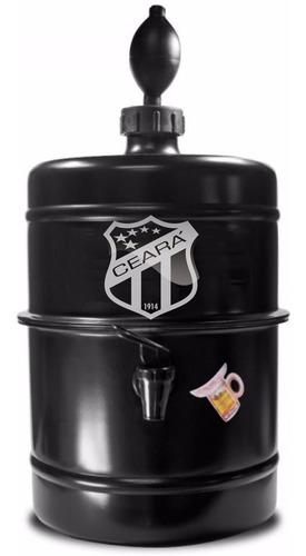 chopeira portátil 5,1 l cerveja gelada / ceará sporting club