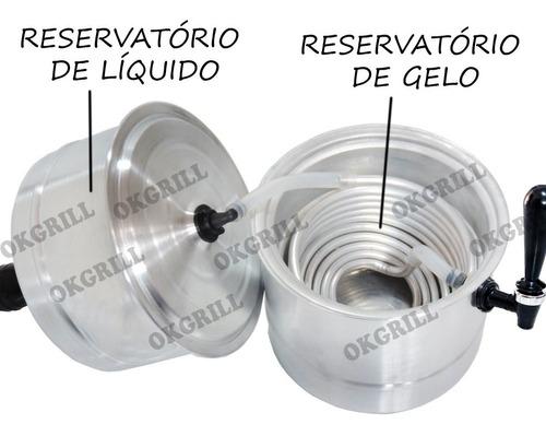chopeira portátil 5,1 l - cerveja geladassa internacional rs