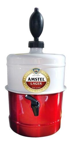 chopeira portátil 5,1 l mantem cerveja gelada até 4h amstel