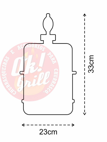 chopeira portátil 5,1 l p cervejas / aluminio heineken