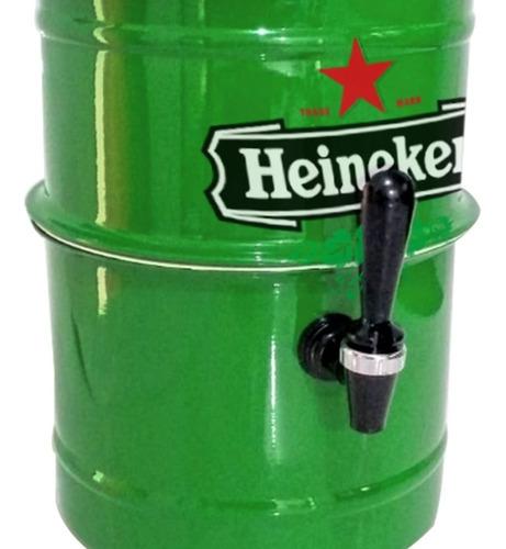 chopeira portátil 5,1 l p cervejas gela rapido heineken