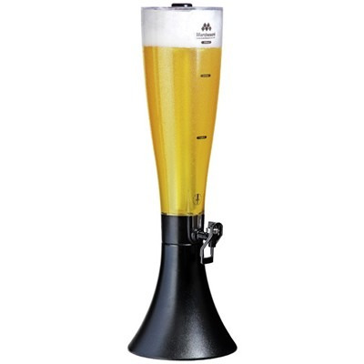 chopeira torre de chopp 2,5 litros macbeer marchesoni + nfe