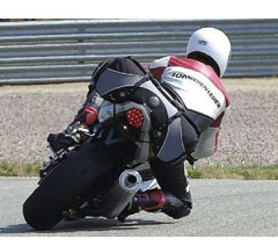 choper maleta trasera sw motech semi-rigida 50-65lt moto