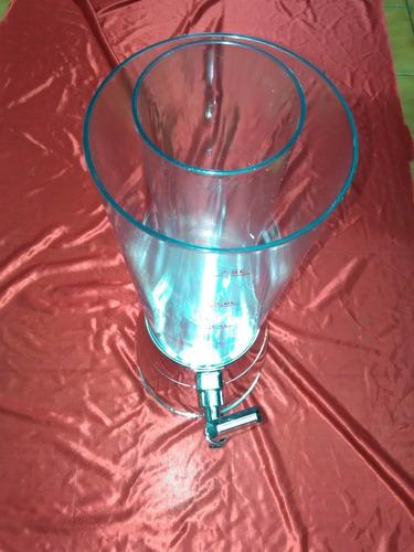 chopera cerveza plateada base giratoria barra mesa coctail