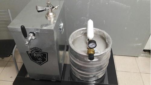 chopera eléctrica completa p/cerveza.  1 canilla.chiller