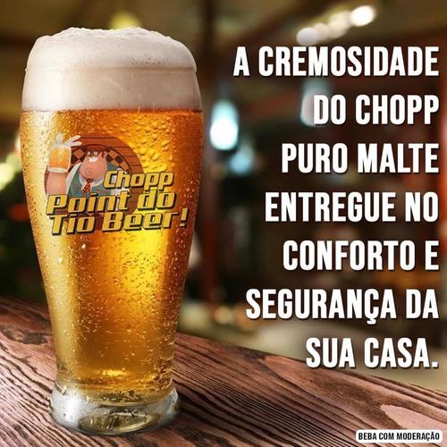 chopp industrial puro malte + choppeira = 379,99