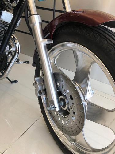 chopper 256 motos corven indiana