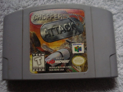 chopper attack nintendo 64