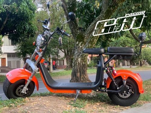 chopper moto electrica scooter