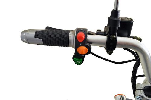 chopper scooter bike elétrica 1500w leds bat litio vermelho