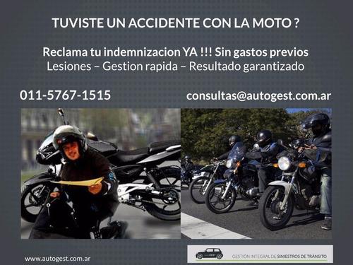 choque, accidente de transito, moto ,auto, lesiones,abogados