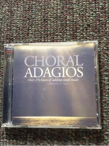 choral adagios 2 cd's