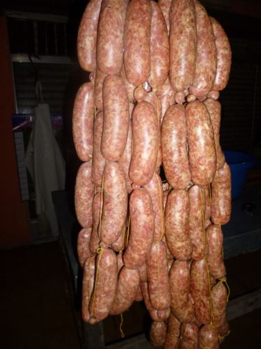 chorizos puro cerdo