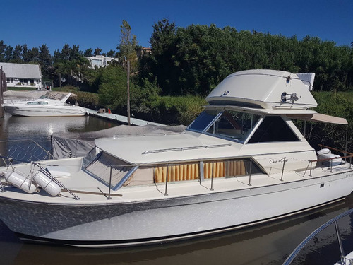 chris craft commander 31 fly crucero clasico usa permuto!!
