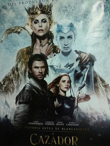 chris hemsworth, poster el cazador y la reina hielo 100x70cm