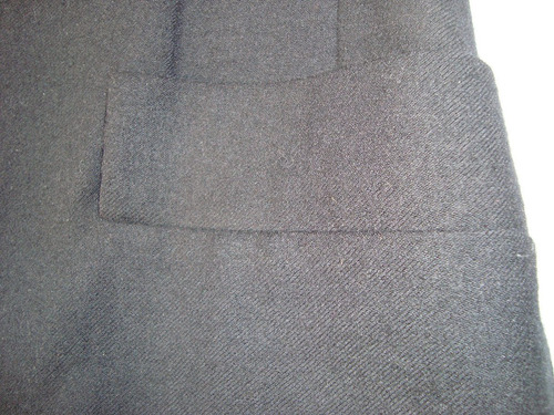 christian dior saco paño lana negro t 42 fotos 2-3-4