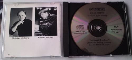 christian lindberg & gunnar idenstam the sacred trombone cd