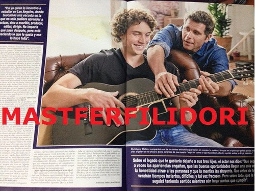christian meier & hijo revista hola peru mayo 2014