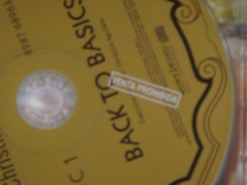 christina aguilera - back to basics cd promocional argentino
