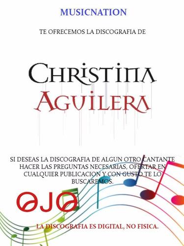 christina aguilera (discografia)