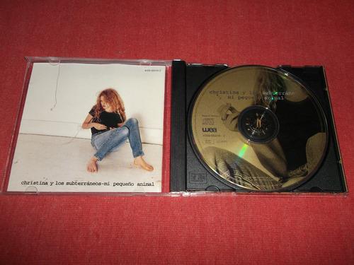 christina los subterraneos pequeño animal cd ger 1994 mdisk