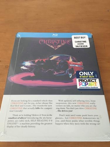 christine. ed. steelbook blu-ray