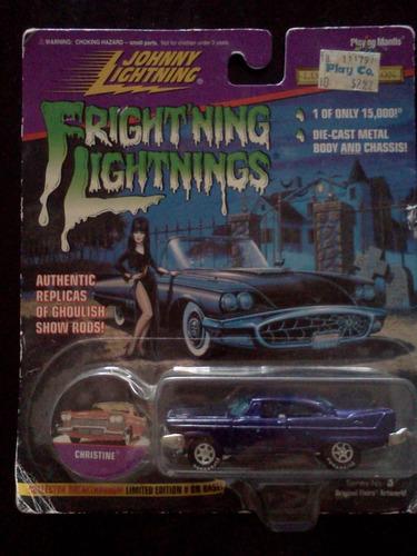 christine frightning lightnings johnny lightning trabucle