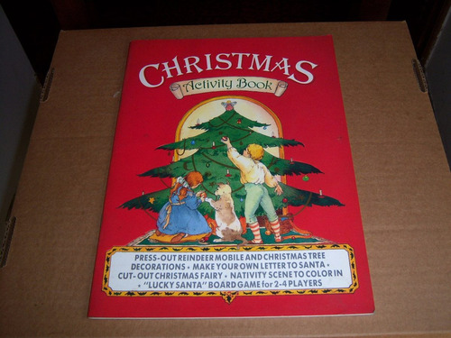 christmas activity book . maggie downer . del tucker