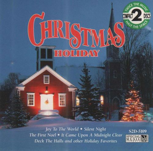 christmas holiday - cd duplo - silent night - jingle bells